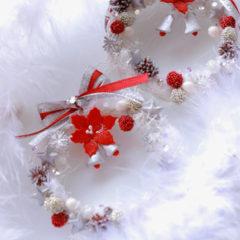ミニチュアクリスマスリース