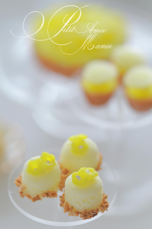 ミニチュア粘土 レモンケーキ レモンスイーツ