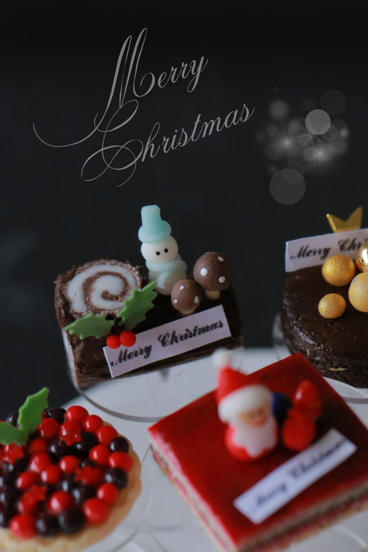 クリスマス ミニチュアケーキ