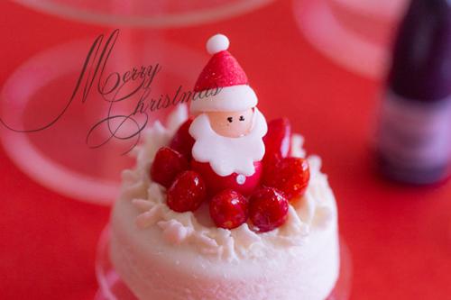 ミニチュアクリスマスケーキ1DAYレッスンの日程発表!