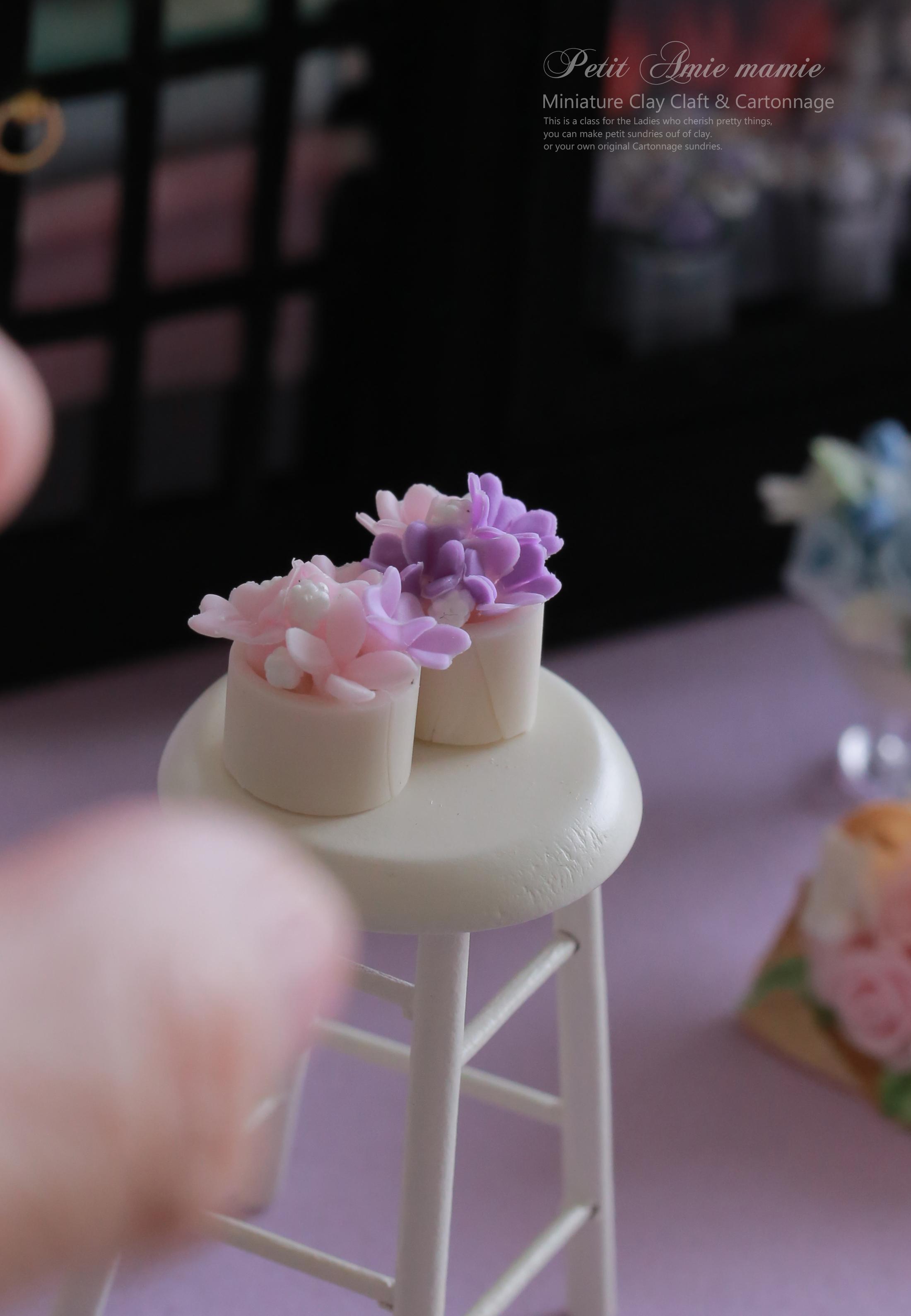 ミニチュア粘土のお花屋さん ミニチュアフラワーショップ