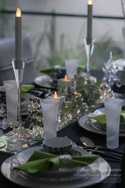 クリスマス テーブルコーデ