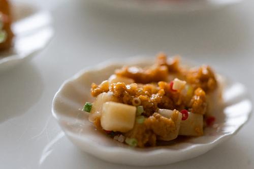 ミニチュアフード 麻婆豆腐
