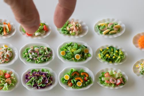 ミニチュアフード ミニチュアサラダ
