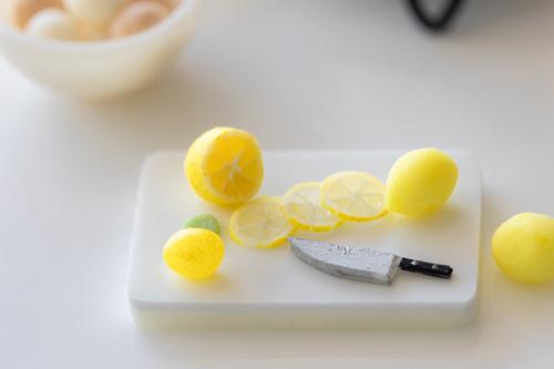 ミニチュアフード ミニチュアスイーツ レモン