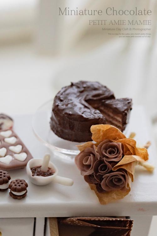 ミニチュアフード チョコレート