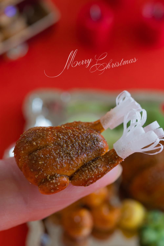 ミニチュアフード クリスマスオードブル