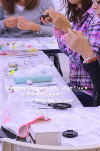 粘土でつくるミニチュア雑貨、可愛いもの好き女子の粘土教室:田園都市線宮前平・たまぷら・千代田区一番町